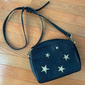 Charming Charlie sparkly stars crossbody bag